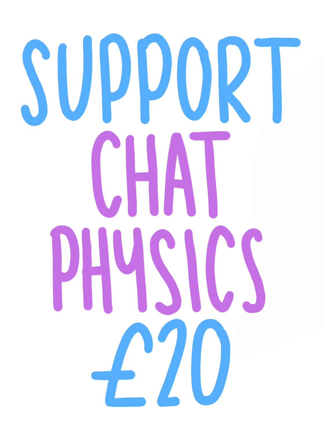 Support Chat Physics £20