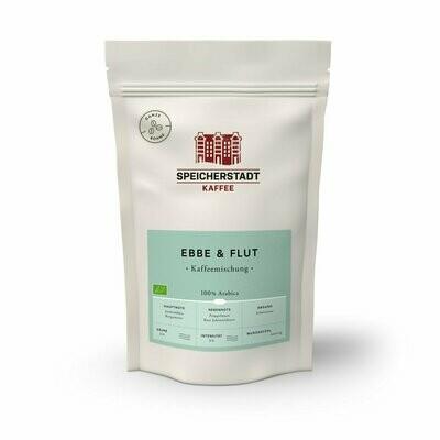 Speicherstadt Ebbe & Flut Kaffeemischung Bio (ganze Bohne 250g)