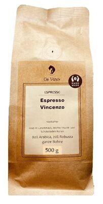 Da Vince Espresso Vincenzo  (ganze Bohne 500g)
