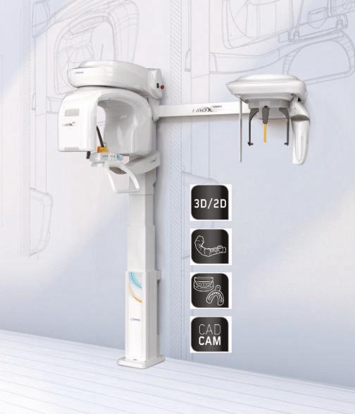 OWANDY I-MAX 3D Tomograf CBCT z Cefalometrią wersja ścienna