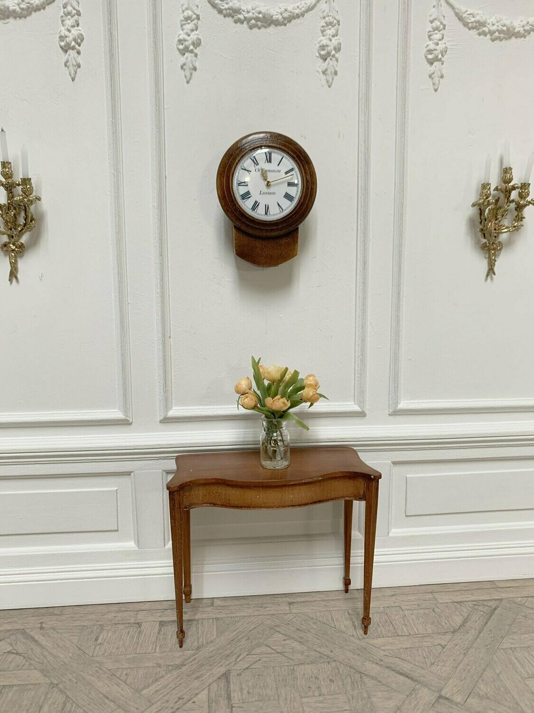 English drop Dial wall clock
