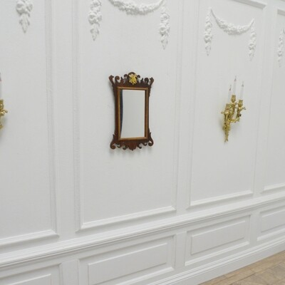 Georgian Fretwork wall mirror