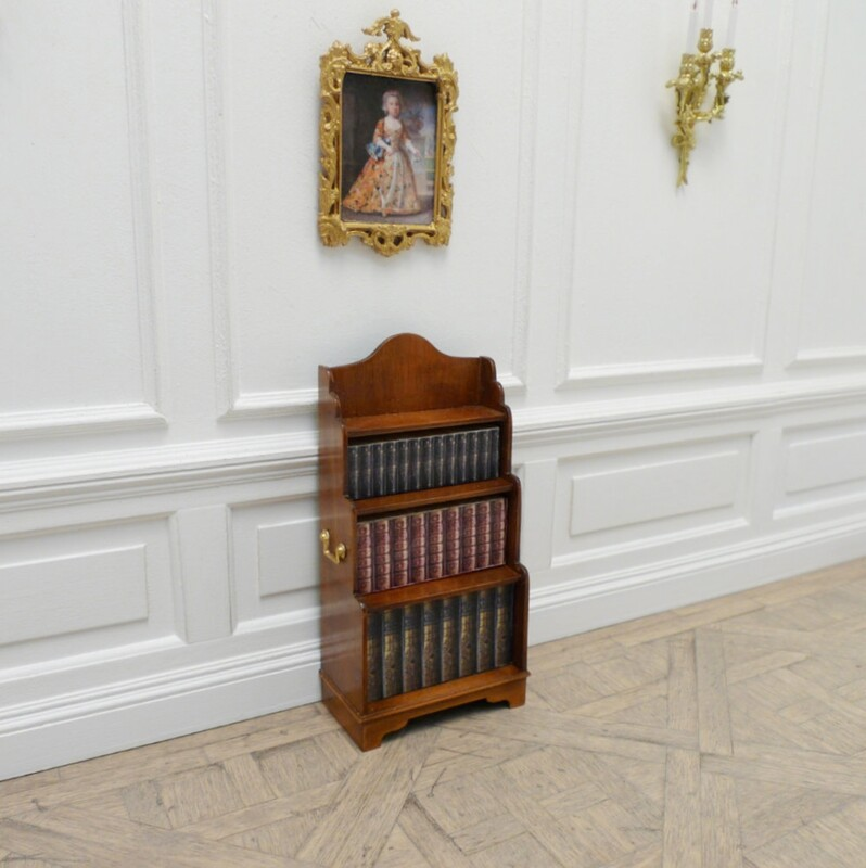 regency waterfall bookcase