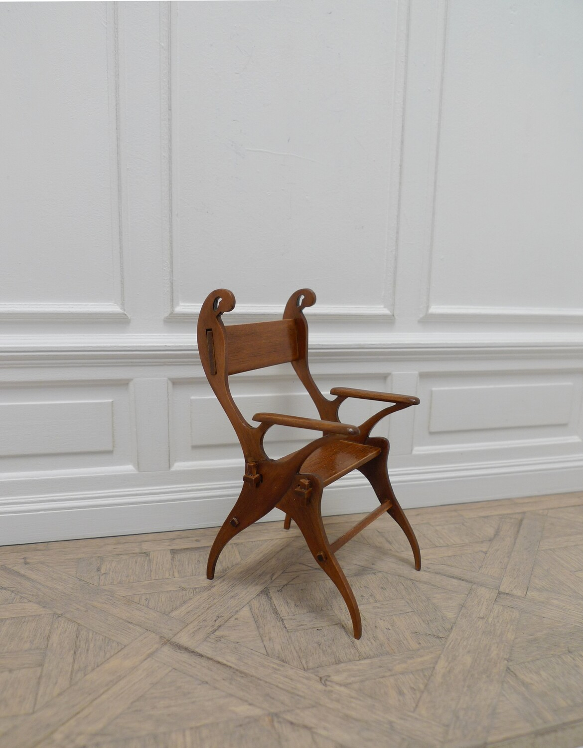 Swan chair by C F A Voysey