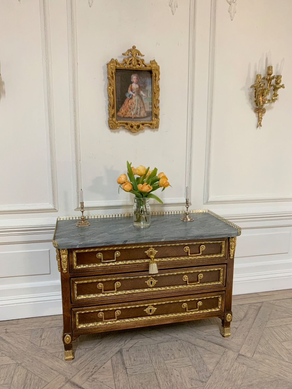 French Ormolu Louis XVI commode