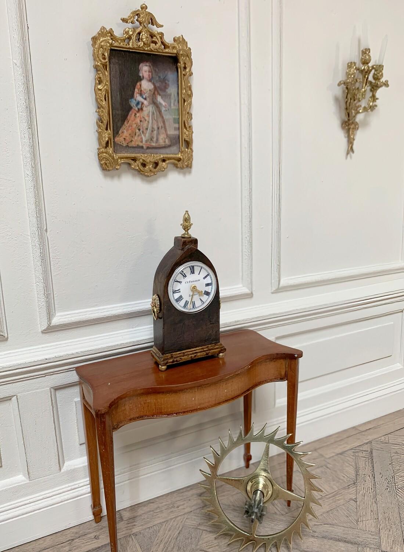 Regency Lancet mantel clock
