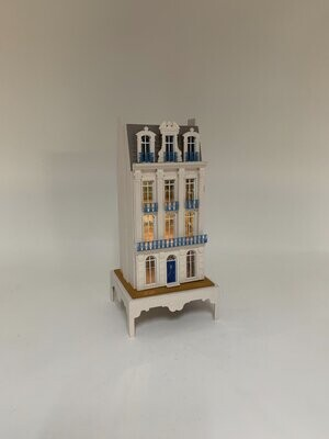 144th scale French Town House,