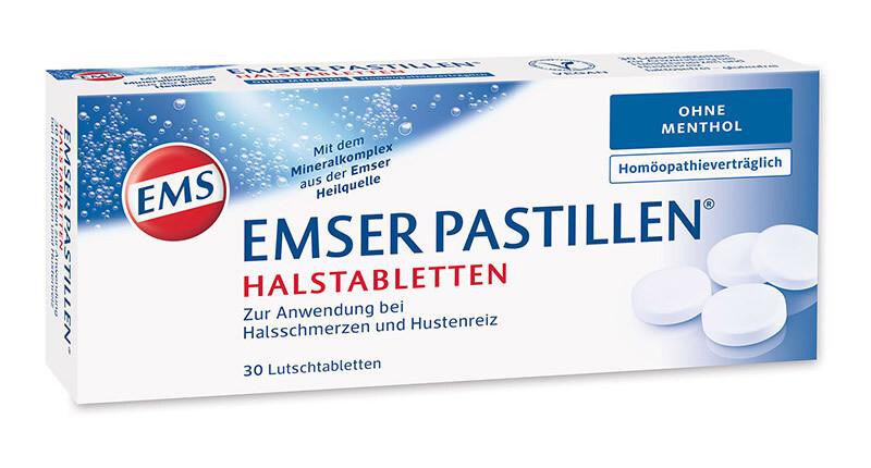 EMSER compresse mal di gola e tosse 30 pezzi