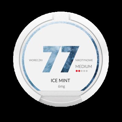 77 Ice Mint 6mg ( 3 mg / Portion)