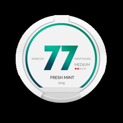 77 Fresh Mint 6mg ( 3 mg / Portion)