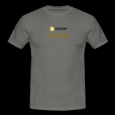 Grey DogeCoin HODLER T-shirt