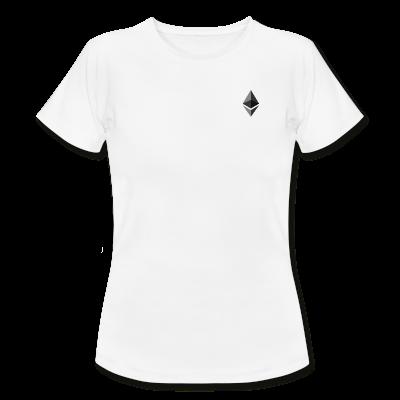 Women's White Ether T-shirt