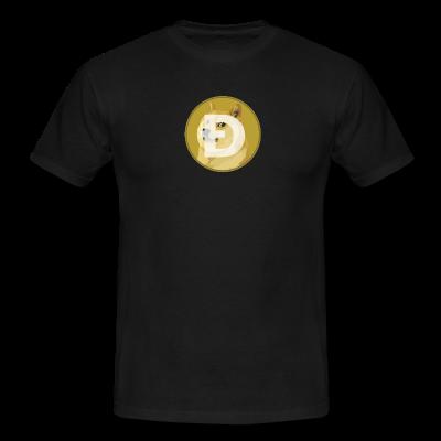 Black DogeCoin T-shirt