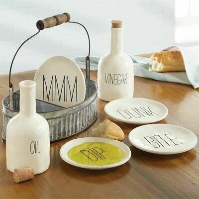 Oil And Vinegar Appetizer Set