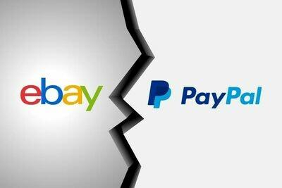 eBay + PayPal 1000/$25,000 Premium High Limit Account. Aged 30+ Days
