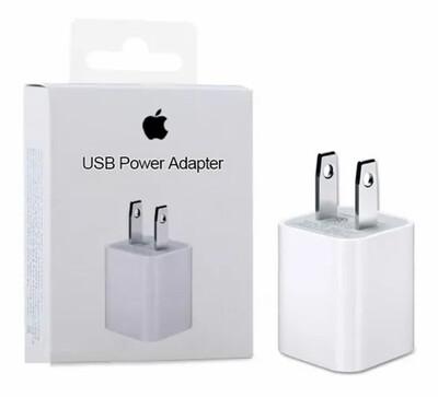 Cargador Cubo Original Apple iPhone 4s 5 5s 6 6s 7 8 X Xs max