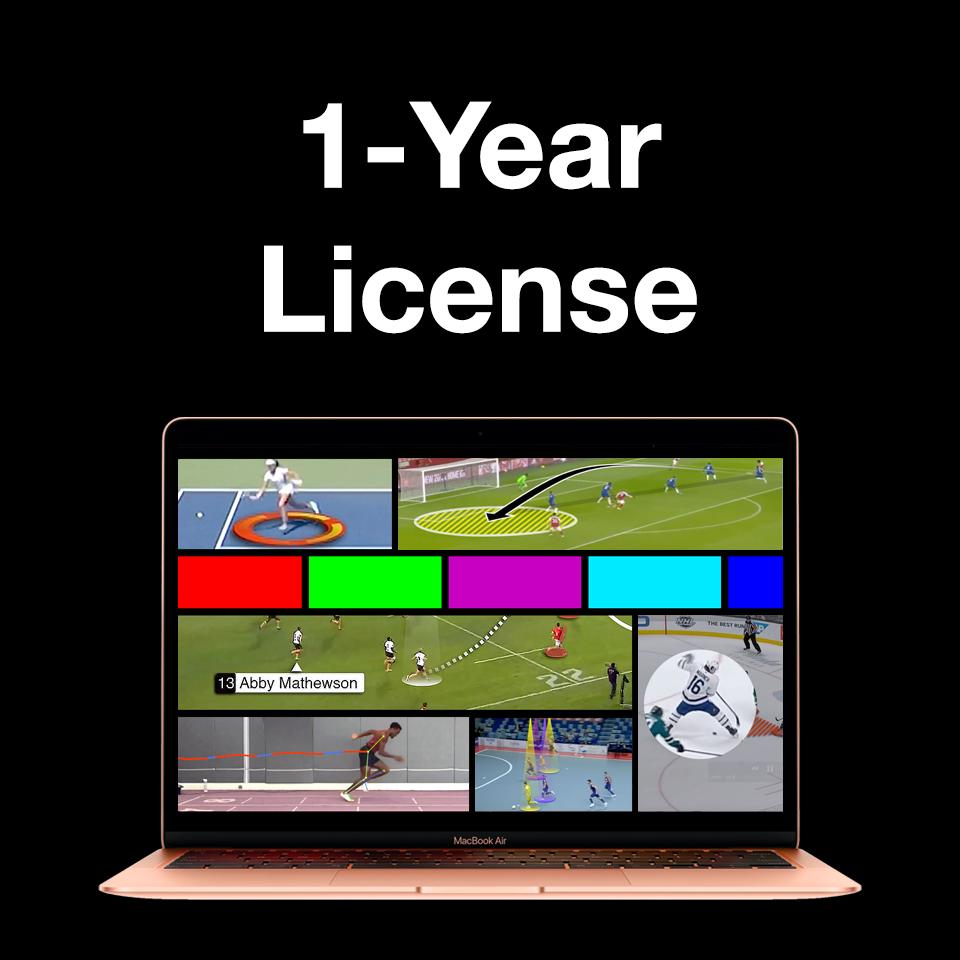 Video Analysis 1-year License