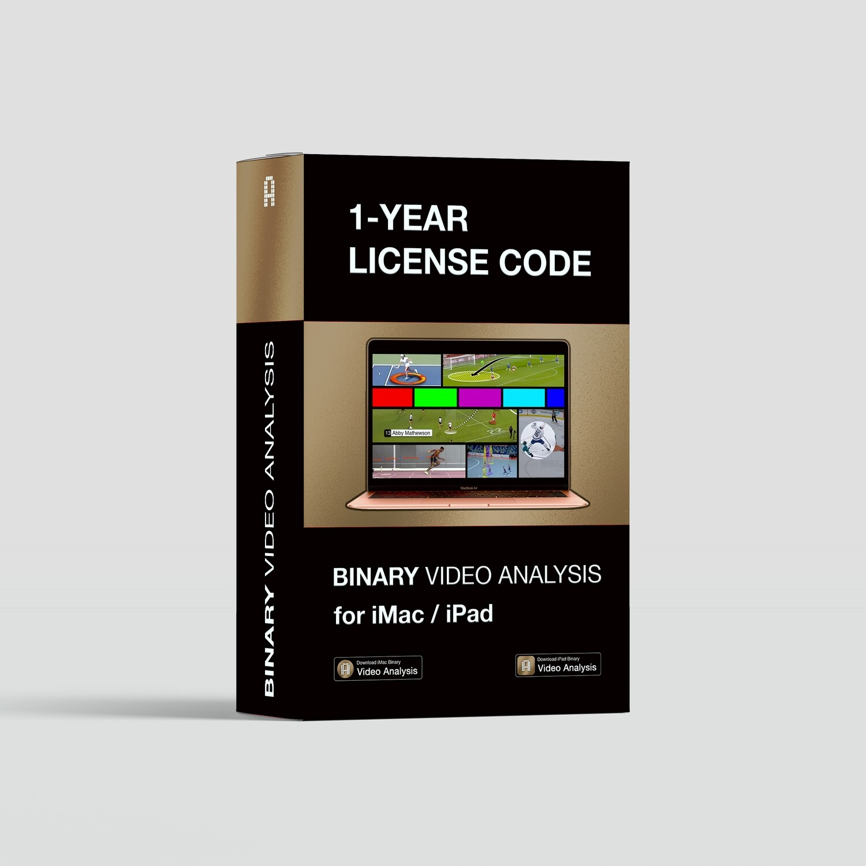 Video Analysis 1-year License Code for iMac / iPad