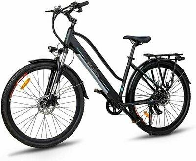 "Macwheel 27,5""/28"" Bici Elettrica da Citt/àTrekking/Mountain, Batteria Rimovibile agli Ioni di Litio da 36 V/10Ah/12,5"