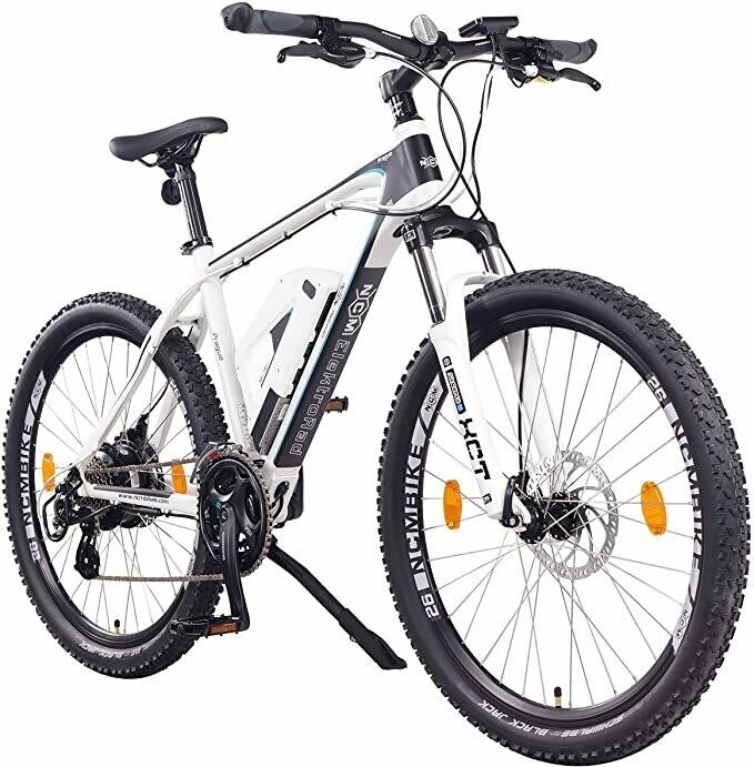 NCM Prague Bicicletta elettrica Mountainbike, 250W, Batteria 36V 13Ah 468Wh