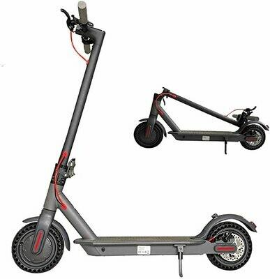 OUXI Monopattino Elettrico per Adulti,Pieghevole Portatile Scooter Elettrico per Adulti Velocità Fino a 25 Km/h / 15.6Mph Unisex Adulto