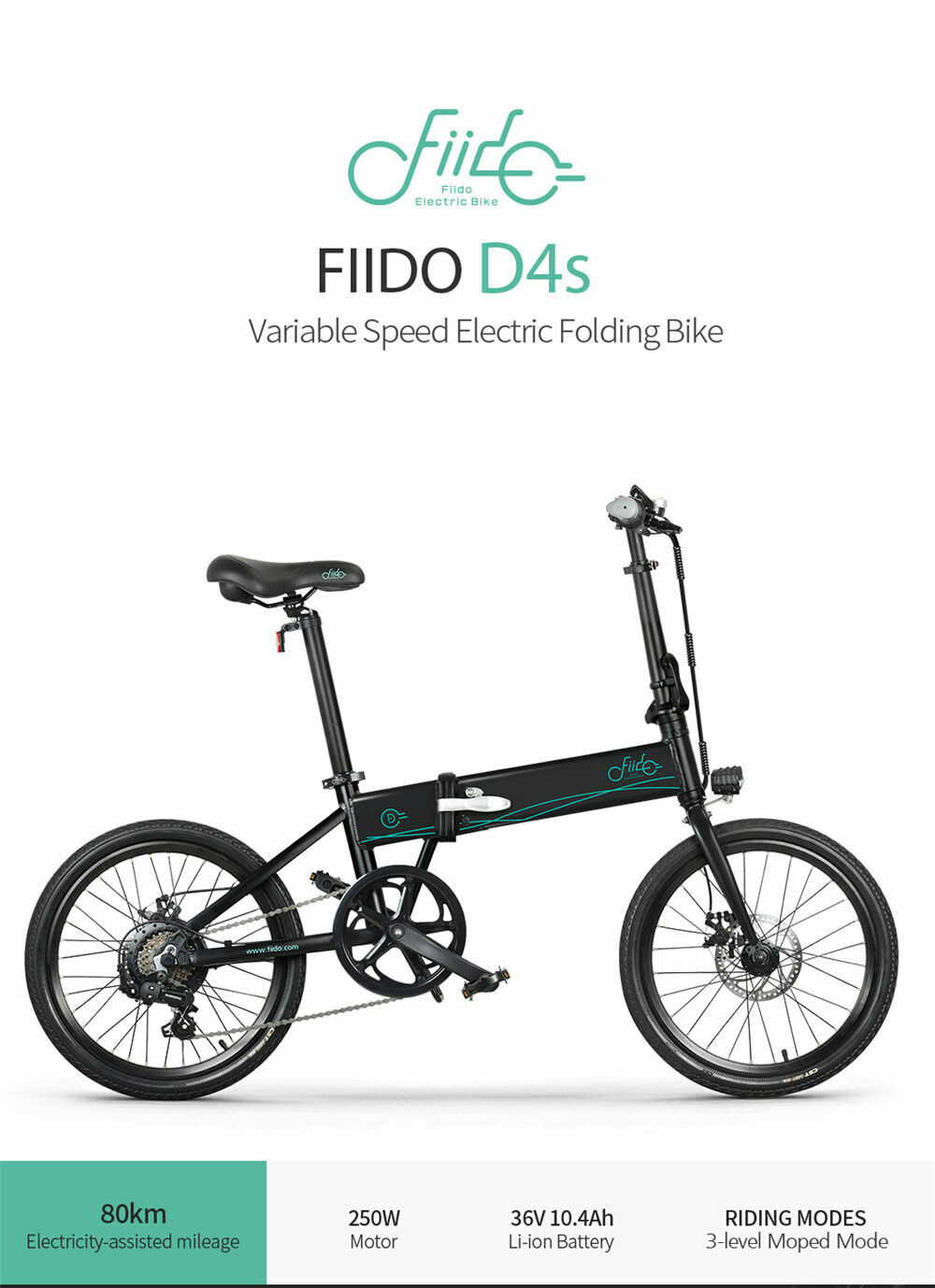 FIIDO D4S Variable Speed