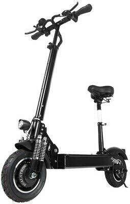 GUNAI Monopattino Elettrico 2000w Doppio Motore Pieghevole Scooter Elettrico con Sedile velocità Fino a 60 km/h