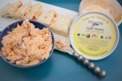 Pimento Goat Cheese