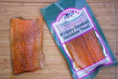 Hickory Smoked Trout Fillet