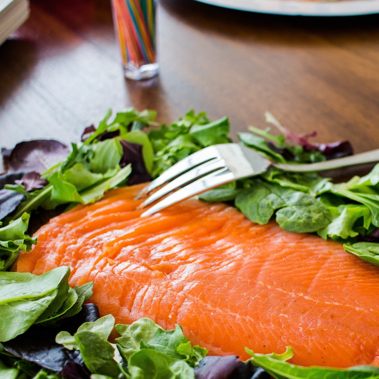 Cold Smoked Rainbow Trout Side