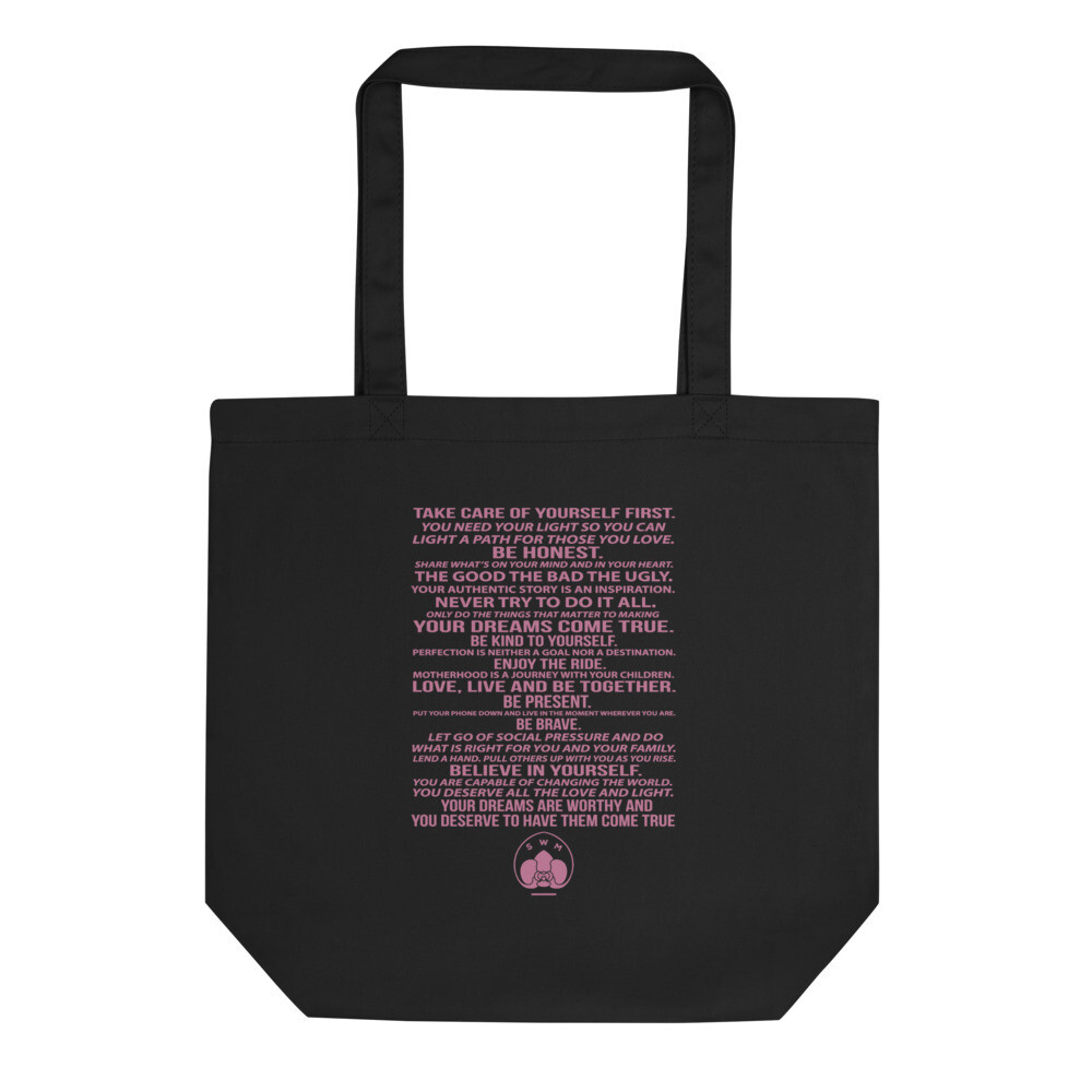 Savvy Working Mom Manifesto Tote- Medium