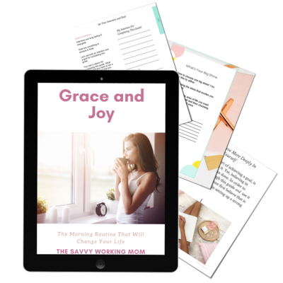 Grace and Joy Morning Routine