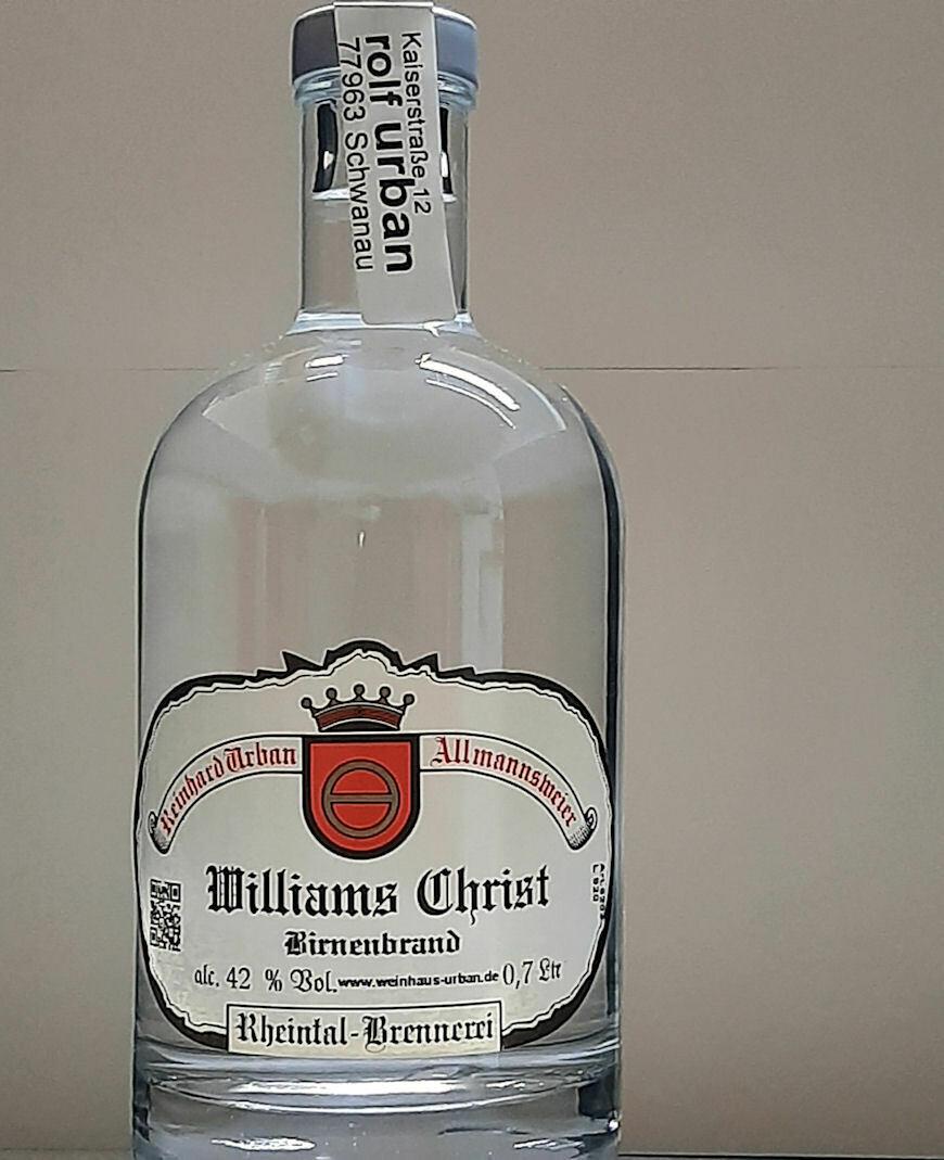 Williams Christ Birne 0,35 Ltr