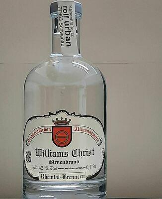 Williams Christ Birne 0,7 Ltr