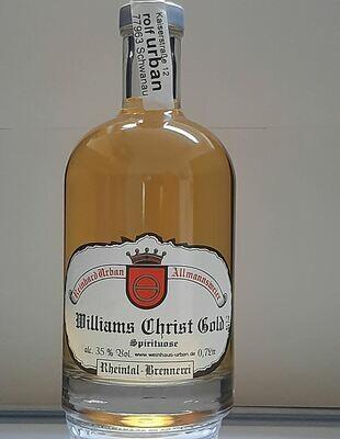 Williams Gold Spirituose 0,7 Ltr
