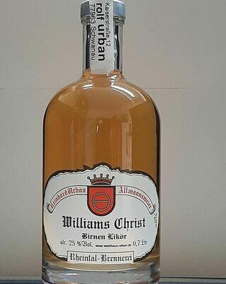 Williams Christ Birnen Likör 0,7 Ltr