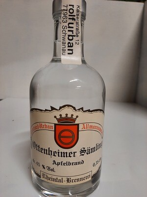 Ottenheimer Sämling  Apfel Sortenrein 0,35 Ltr