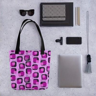 Tote bag Retro Pink