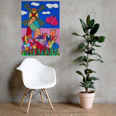 Spring - Print of Acrylic on Canvas