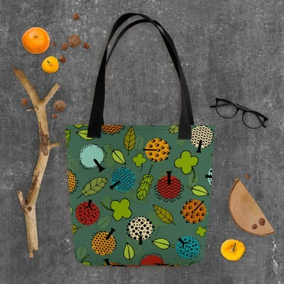 Tote bag Forever Autumn in Cedar Green