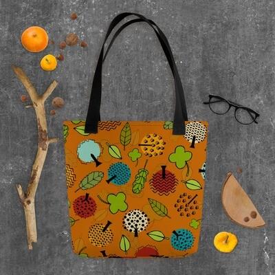 Tote bag Forever Autumn in Burnt Orange