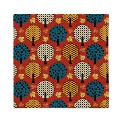 Premium Pillow Case October in Oak Red