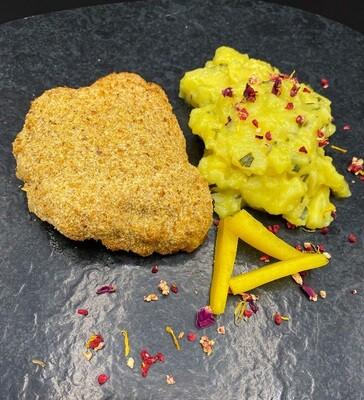 Cordon Bleu mit Kartoffelsalat für 10 Personen