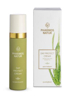 DAY PROTECT CREAM – Aloe Vera Bio & thé vert – 50ml