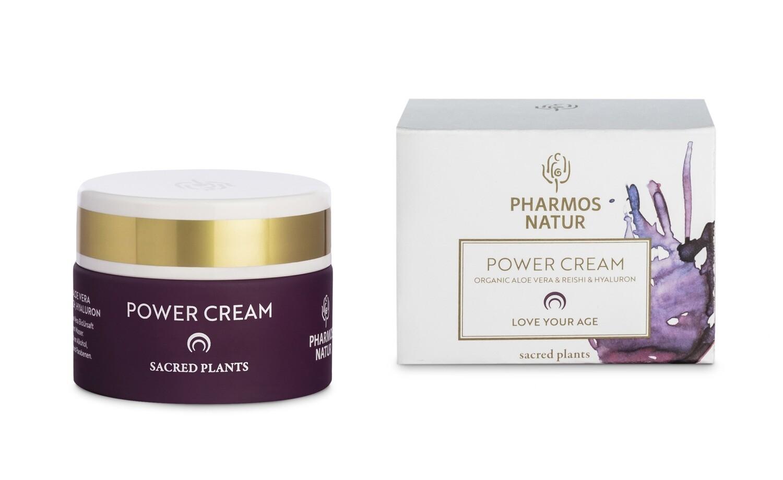 POWER CREAM – LOVE YOUR AGE – Jus d'Aloe Vera Bio & reishi & acide hyaluronique – 50ml