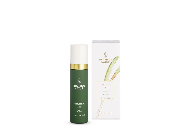 SENSITIVE GEL – Jus d'Aloe Vera Bio & huile de sésame noir – 50ml