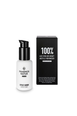 EFFECT SERUM – NATURE OF MEN – Jus d'Aloe Vera Bio, Cranberry, huile de pépin & acide hyaluronique – 50ml
