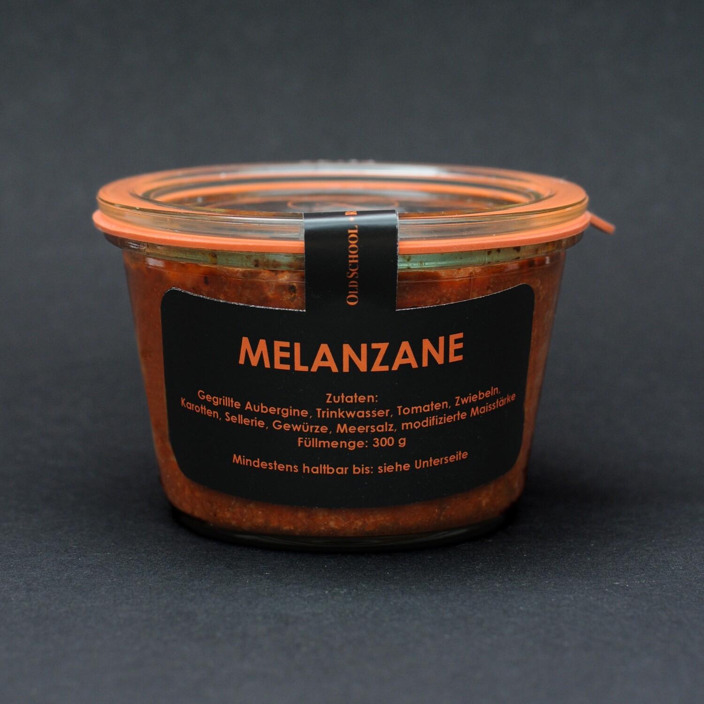 Melanzane , gegrillter Auberginen - Tomatenauflauf