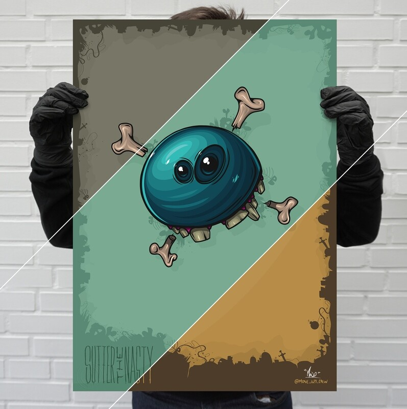 """""""BonyBone"""" – limited poster edition 