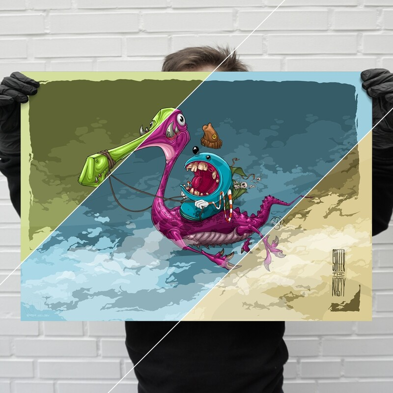 """""""TheDragonRider"""" – limited poster edition 
